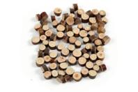 Minis rondelles de bois - Sachet de 230 gr - Décorations en Bois - 10doigts.fr