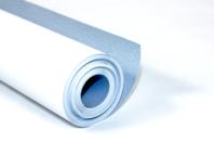 Papier Blanc-Bleu pour peinture - Rouleau de 10 mètres - Rouleaux et fresques - 10doigts.fr