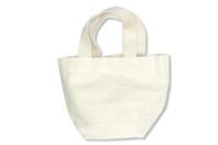 Mini sac en coton écru - Coton, lin - 10doigts.fr