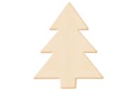 Sapin en bois naturel - Motifs bruts - 10doigts.fr