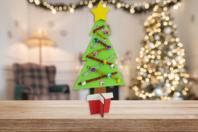 Kit sapin de Noël en bois à décorer - Noël - 10doigts.fr