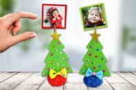 Porte-photo sapin de Noël - Noël - 10doigts.fr