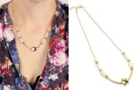 Kit collier étoile à fabriquer - Kits bijoux - 10doigts.fr