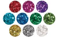 Sequins couleurs assorties à facettes - Set de 20000 paillettes - Sequins - 10doigts.fr