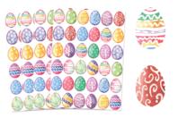 Gommettes œufs de Pâques aquarelle - 4 planches - Décorations et accessoires de Pâques - 10doigts.fr