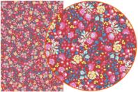 Papier Décopatch Fleuris - 3 feuilles  N°751 - Papiers Décopatch - 10doigts.fr