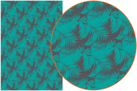 Papier Décopatch Tropical - 3 feuilles  N°755 - Papiers Décopatch - 10doigts.fr