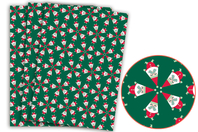 Papier Décopatch Père-Noël - 3 feuilles N°829 - Papiers Décopatch - 10doigts.fr
