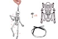 Mobile squelette articulé - Halloween - 10doigts.fr