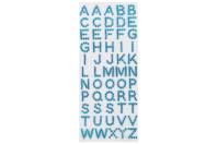 Strass alphabet collants - 55 lettres - Bullet Journal, Planner - 10doigts.fr
