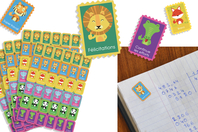 Gommettes d'encouragements - 360 timbres - Matériels pour collectivités - 10doigts.fr