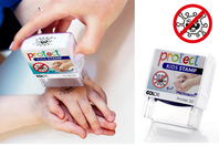 Protect Stamp - Tampon anti-virus - Protections et désinfectants - 10doigts.fr