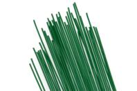 Tiges métalliques de fleuriste 30 cm - Lot de 35 tiges - Fils aluminium - 10doigts.fr