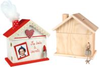 Tirelire maison en bois - Tirelires - 10doigts.fr