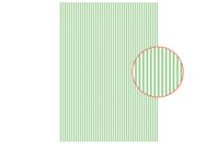 Tissu adhésif rayures vertes - Tissus adhésifs - 10doigts.fr