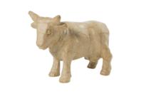 Vache en papier mâché 13 cm - Animaux en papier mâché - 10doigts.fr