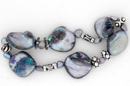 Bracelet de perles nacrées - Perles, bracelets, colliers - 10doigts.fr