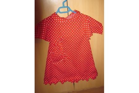 premiere robe pour ma petite fille - Couture, point de croix... - 10doigts.fr