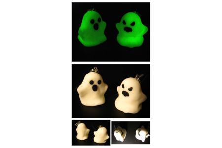 Portes clé fantômes phosphorescents - Fimo, Cernit - 10doigts.fr