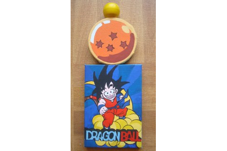 Dragon ball z - Peinture - 10doigts.fr