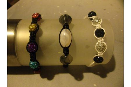 bracelet shamballas - Perles, bracelets, colliers - 10doigts.fr