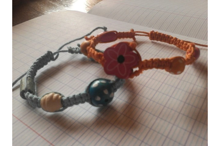 Shamballa - Perles, bracelets, colliers - 10doigts.fr
