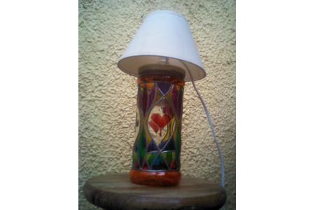 lampe à abat jour - Lampes et guirlandes - 10doigts.fr