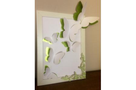 Cadre 3D papillons - Cadres - 10doigts.fr