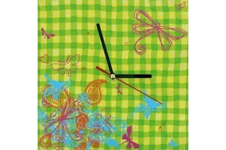 Horloge campagnarde - Déco du bois - 10doigts.fr