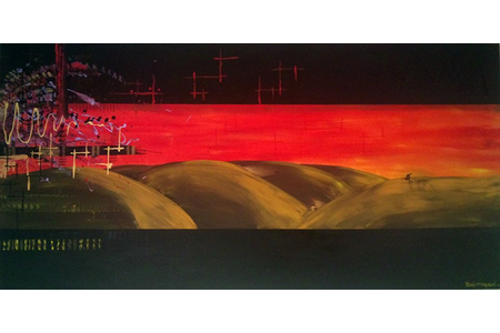 desert - Peinture - 10doigts.fr