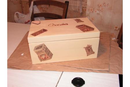 boites tablettes chocolat - Déco du bois - 10doigts.fr