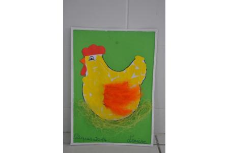 poule pâques - Pâques, Noël - 10doigts.fr
