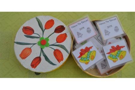 mémo de paques recto - Pâques, Noël - 10doigts.fr
