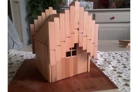 Petite maison original - Déco du bois - 10doigts.fr