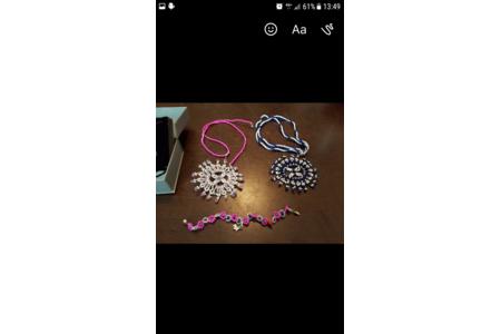 collier et bracelet - Perles, bracelets, colliers - 10doigts.fr