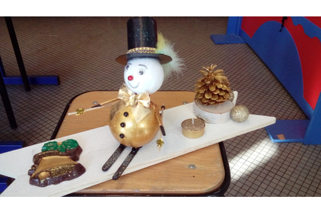 déco de table pour Noël - Pâques, Noël - 10doigts.fr