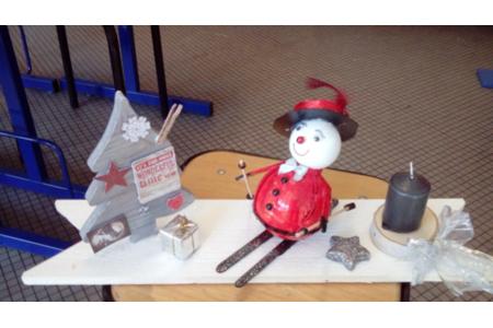 déco de table pour Noël - Bougies - 10doigts.fr