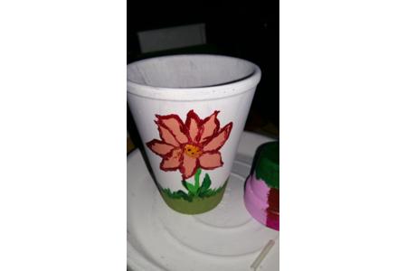 peinture sur pots - Peinture - 10doigts.fr