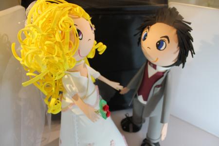 fofuchas les mariés - Divers - 10doigts.fr