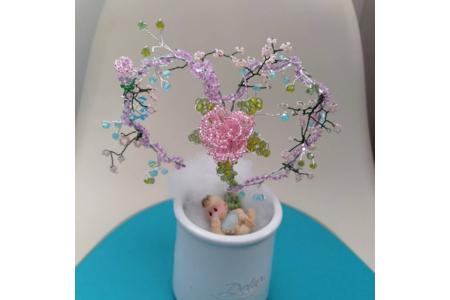 Petit cœur en perles - Perles, bracelets, colliers - 10doigts.fr