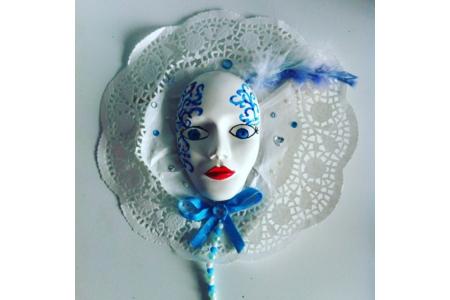 masque vénitien - Perles, bracelets, colliers - 10doigts.fr