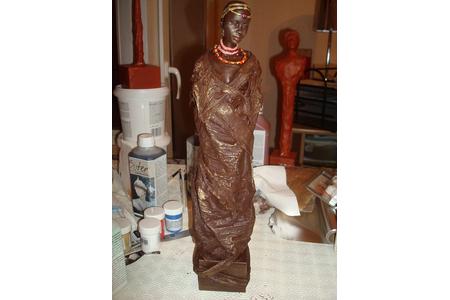 Statue africaine - Divers - 10doigts.fr