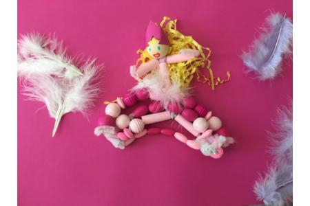 Princesse en perles - Perles, bracelets, colliers - 10doigts.fr
