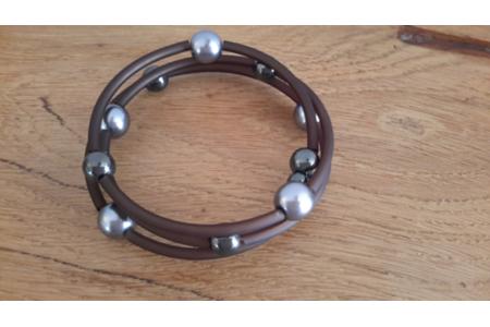 Bracelet fil mémoire - Perles, bracelets, colliers - 10doigts.fr