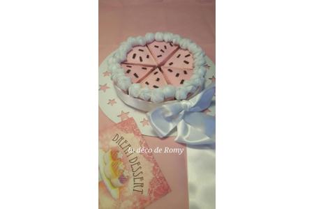 gâteau feutrine - Feutrine, feutrage - 10doigts.fr