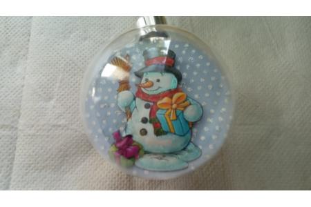 bonhomme de neige - Carterie - 10doigts.fr