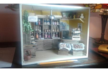 Diorama inspiré du Comptoir de Mathilde - Divers - 10doigts.fr