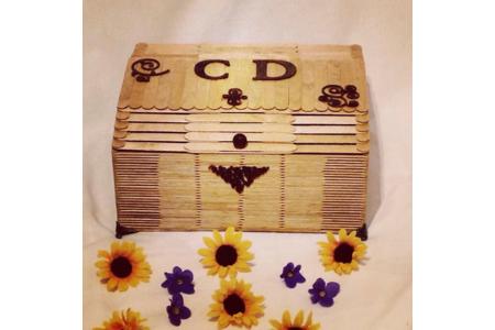 Boite de rangement pour cd - Home Déco, Châssis - 10doigts.fr
