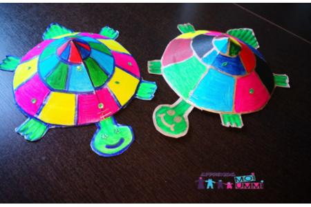 Nos petites tortues ! - Créations d'enfant - 10doigts.fr