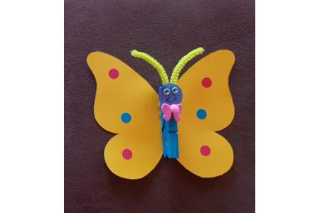 Papillon - Créations d'enfant - 10doigts.fr